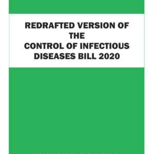 Cover of Redrafted-CONTROL-OF-INFECTIOUS-DISEASES-BILL-2020