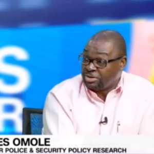 DR. OMOLE REITERATES #ENDSARS MOVEMENT JUSTIFIED BUT DEMANDS SHOULD BE MORE SPECIFIC